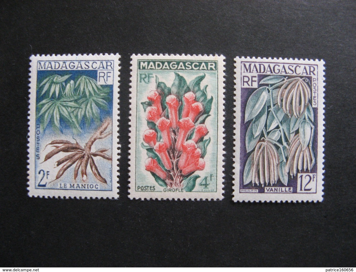 MADAGASCAR: TB Série  N° 332 Au N° 334, Neufs XX. - Madagascar (1889-1960)
