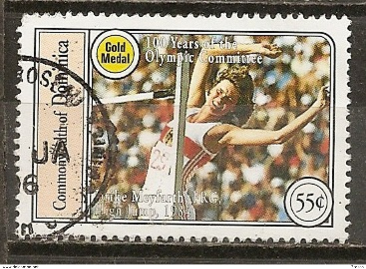 Dominica Jeux Olympiques Obl - Dominica (1978-...)