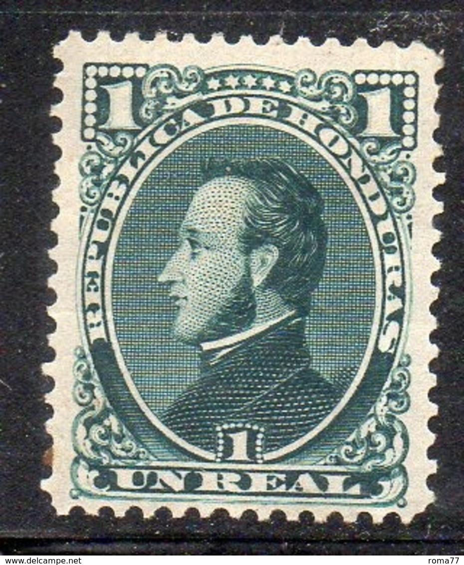 APR2897 - HONDURAS 1878 , Yvert N. 17 *  Linguelle Forti  (2380A) - Honduras