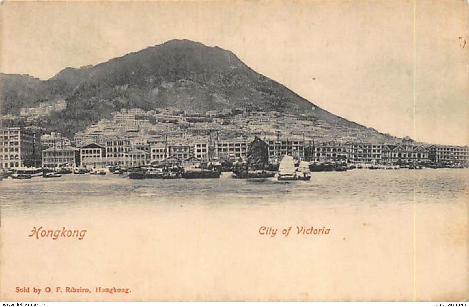 HONG-KONG - City Of Victoria - Publ. Ribeiro. - Chine (Hong Kong)
