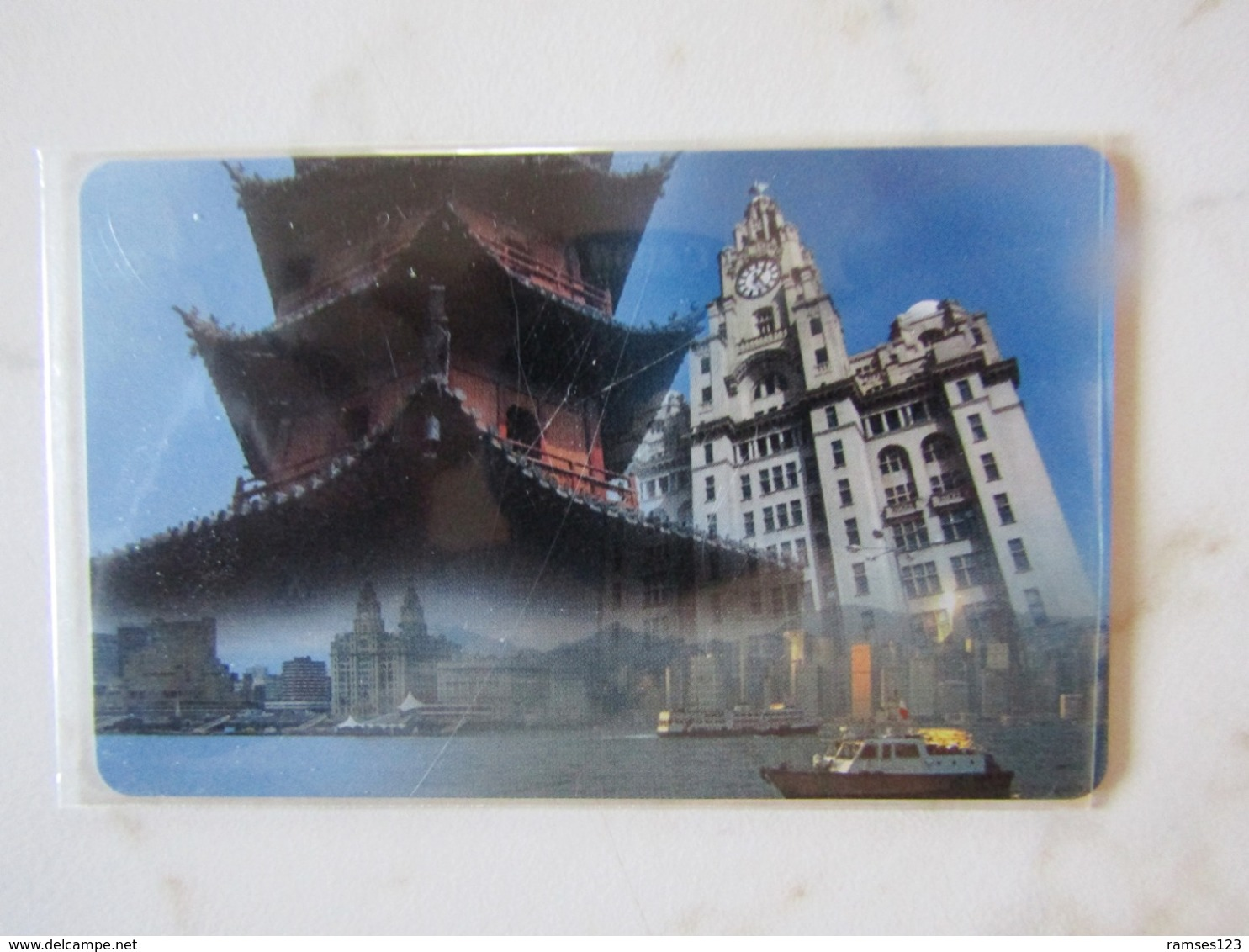 SPECIAL CARD   VIST SHANGAI    TEST - Royaume-Uni