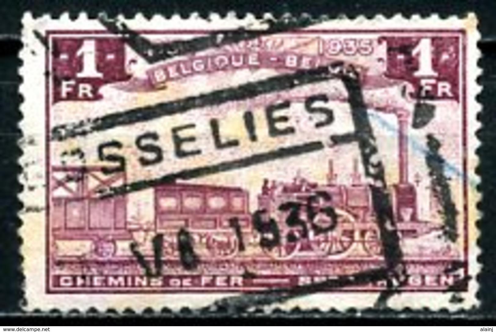 BE   TR187    Obl   ---   Cachet : Gosselies - Bahnwesen