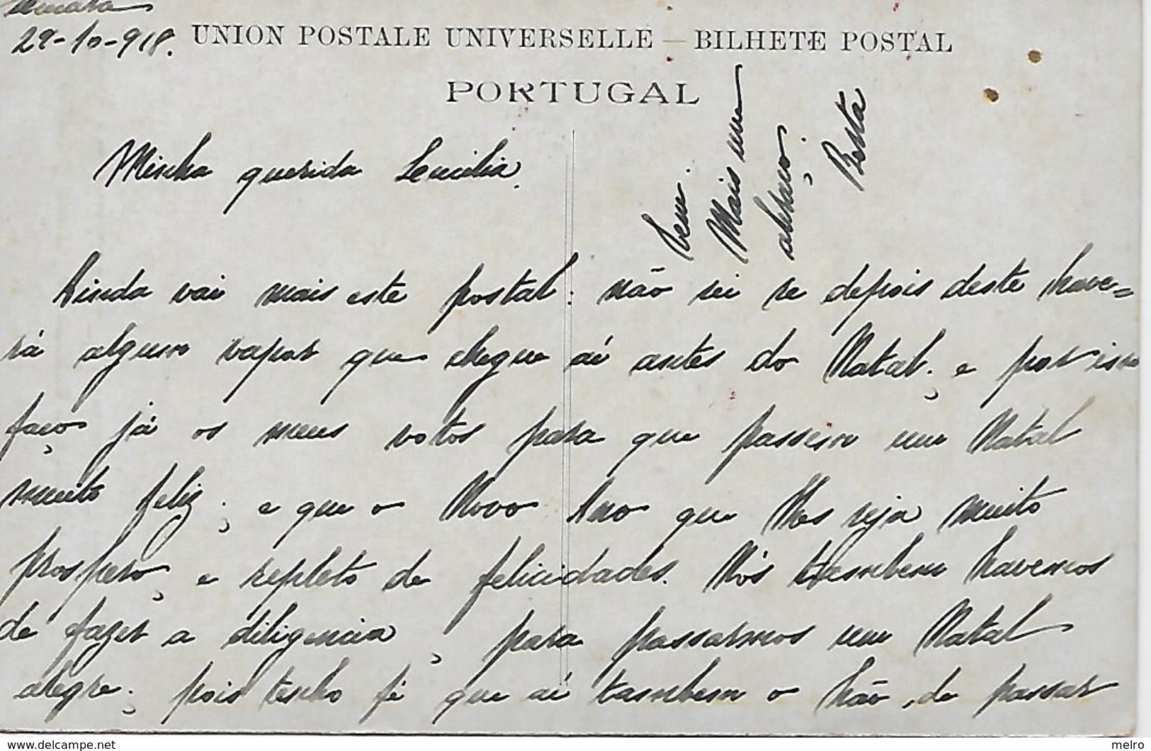 Portugal - Figueira Da Foz - Chalet Das Cannas No Jardim Público. (escrito Em 29/10/1918). - Coimbra