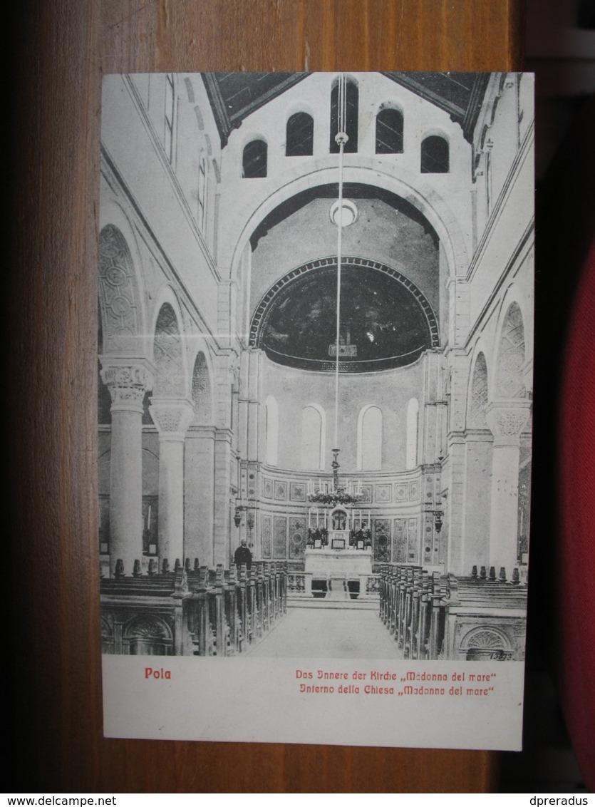 Croatia Pula Pola  Kirche Church Cca. 1910 - Croatia