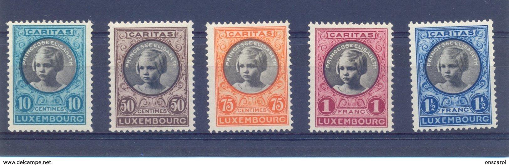 Nrs.192/196 ** Postgaaf Zeer Mooi  Princes Elisabeth - Ungebraucht
