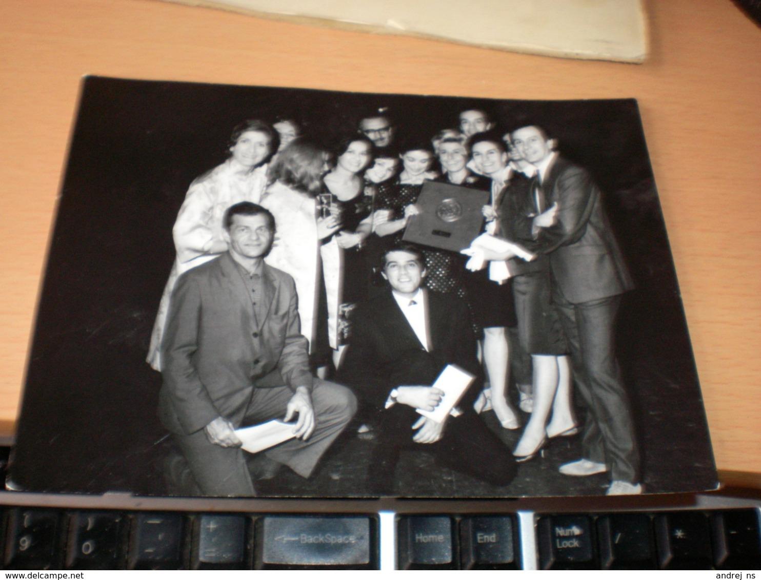 Photograph Miroslav Kristic Theatre National Beograd - Berühmtheiten