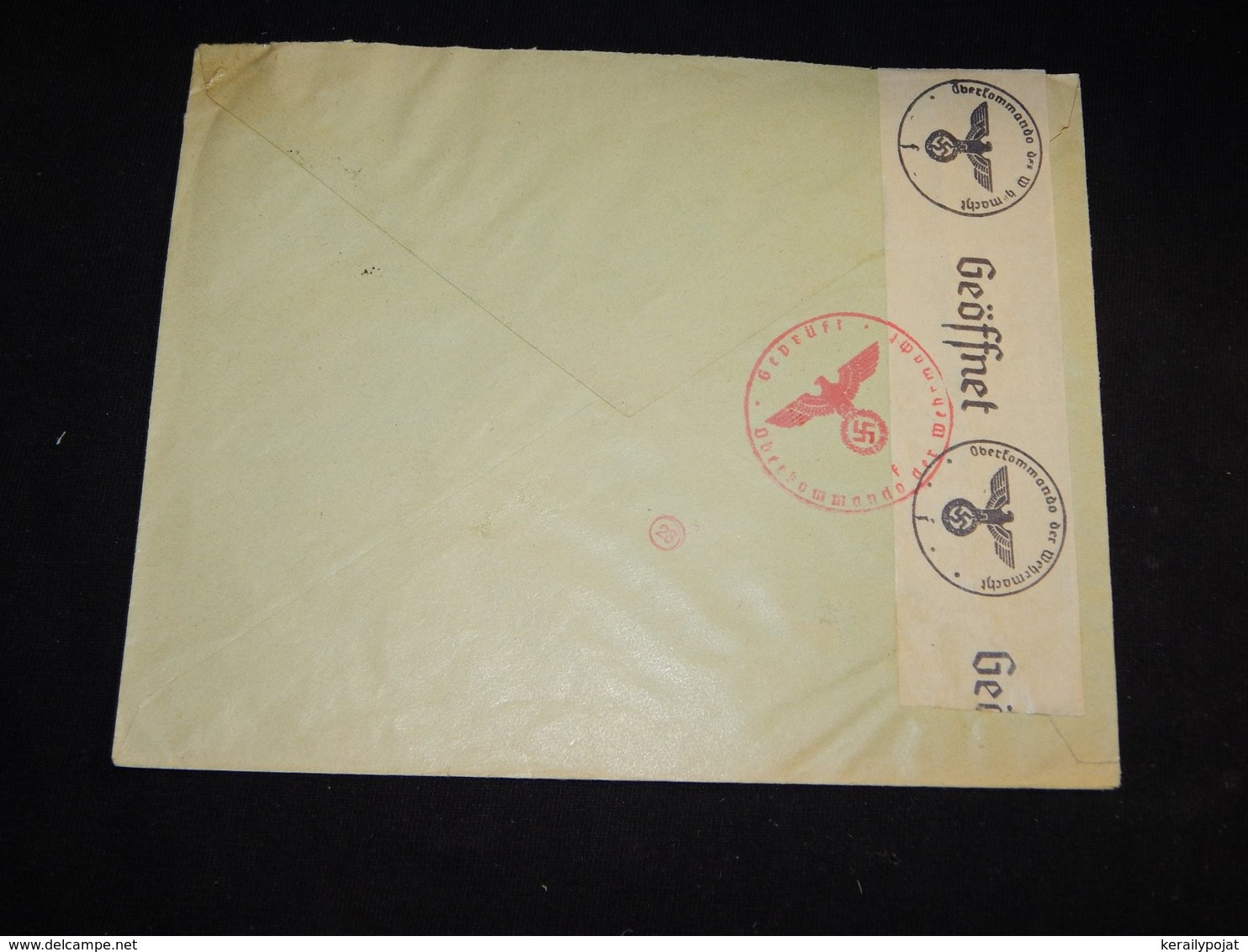 Germany 1941 Hamburg Censored Cover__(L-29366) - Briefe U. Dokumente