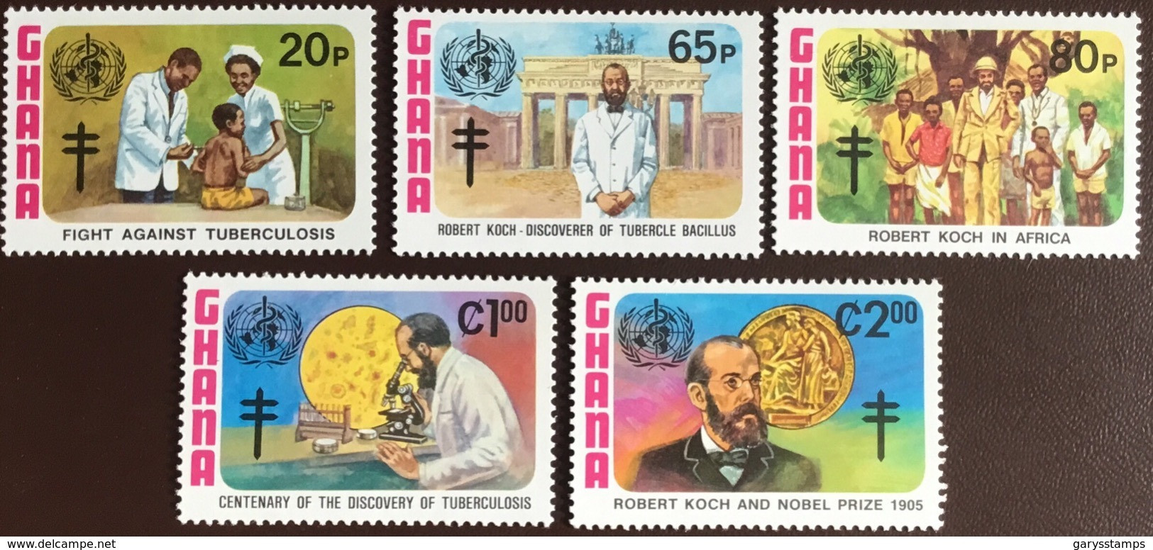 Ghana 1982 Koch TB Discovery MNH - Ghana (1957-...)