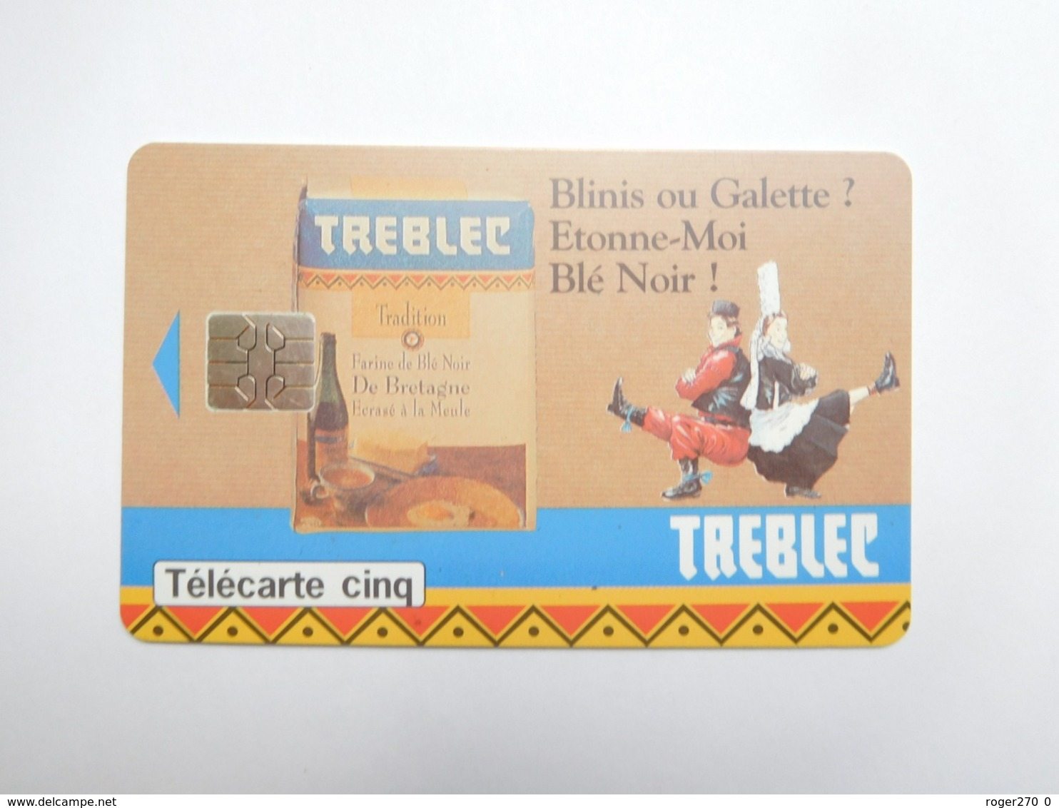 Télécarte Privée , 5U , Treblec , Gn101 - Francia