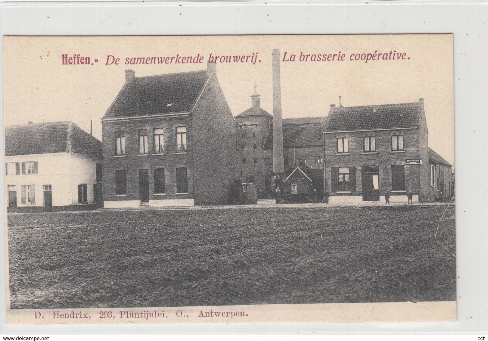 Heffen Mechelen  De Samenwerkende Brouwerij - La Brasserie Coopérative   Edit D Hendrix   BROUWERIJ  BRASSERIE - Malines