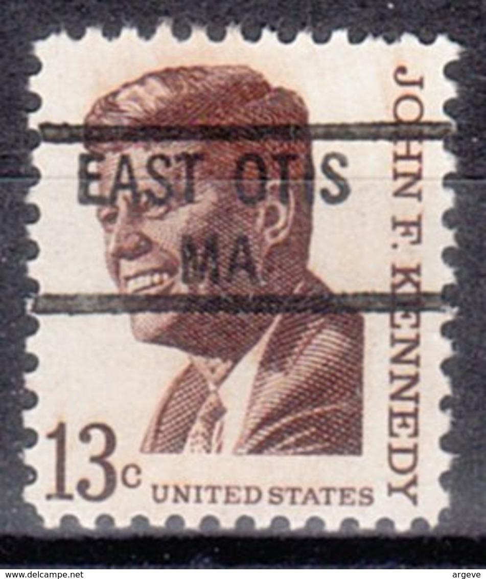 USA Precancel Vorausentwertung Preo, Locals Massachusetts, East Otis 841 - Vorausentwertungen