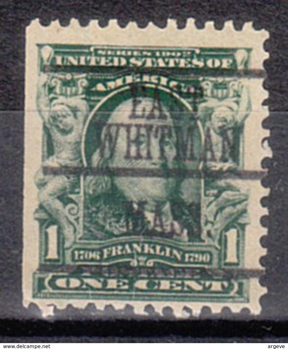 USA Precancel Vorausentwertung Preo, Locals Massachusetts, East Whitham 300-L-1 TS - United States