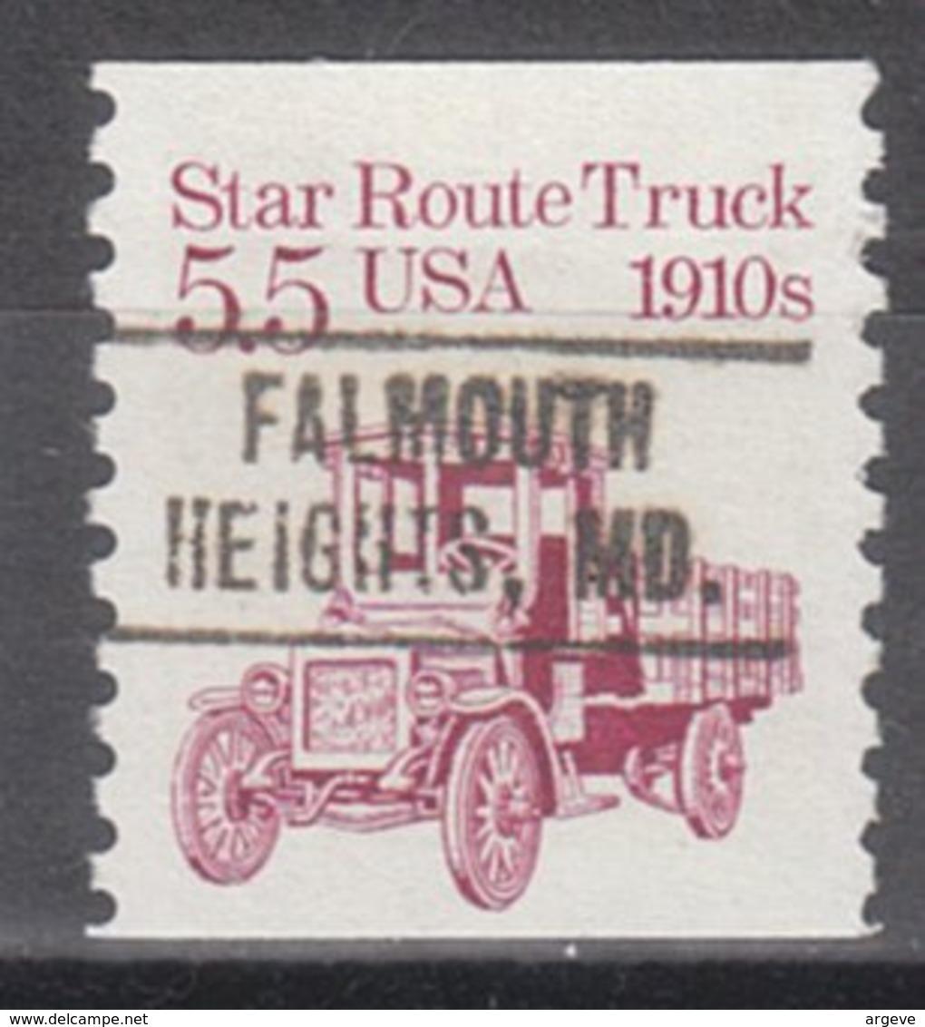 USA Precancel Vorausentwertung Preo, Locals Massachusetts, Falmouth Heights 749 - Vorausentwertungen