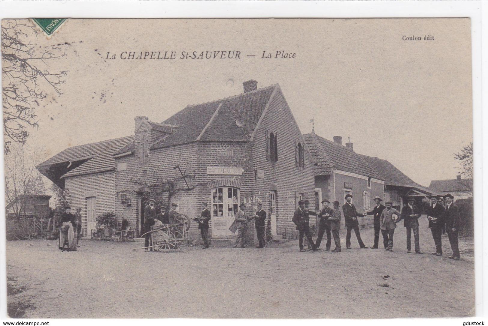 Saône-et-Loire - La Chapelle St-Sauveur - La Place - Autres Communes