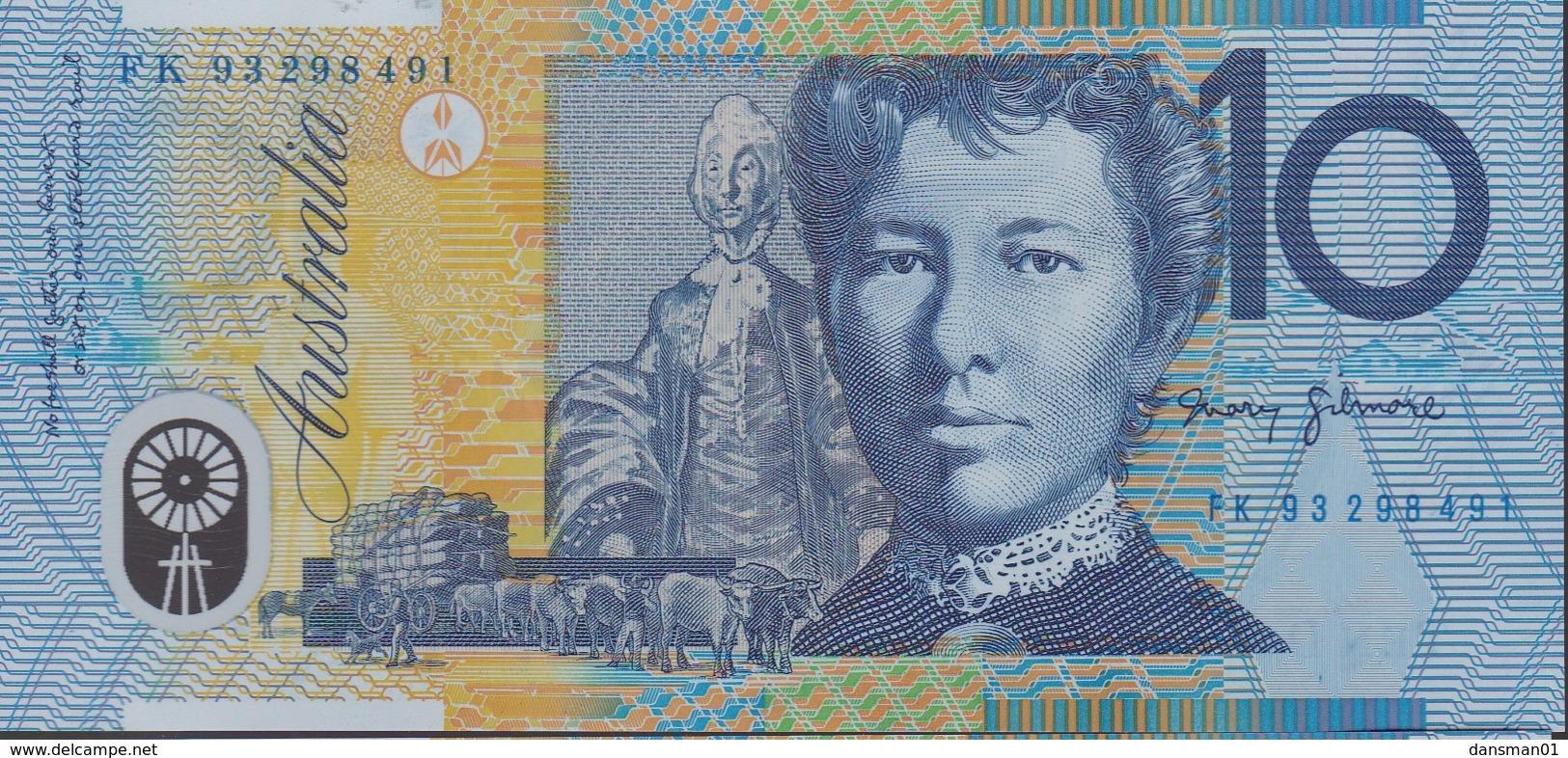 Australia 1993 Polymer $10 FK 93298491 Uncirculated - Emissioni Governative Decimali 1966-...