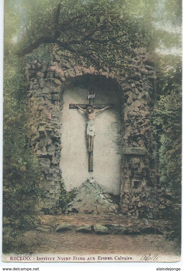 Eeklo - Eecloo - Institut Notre Dame Aux Epines - Calvaire - 1906 - Eeklo