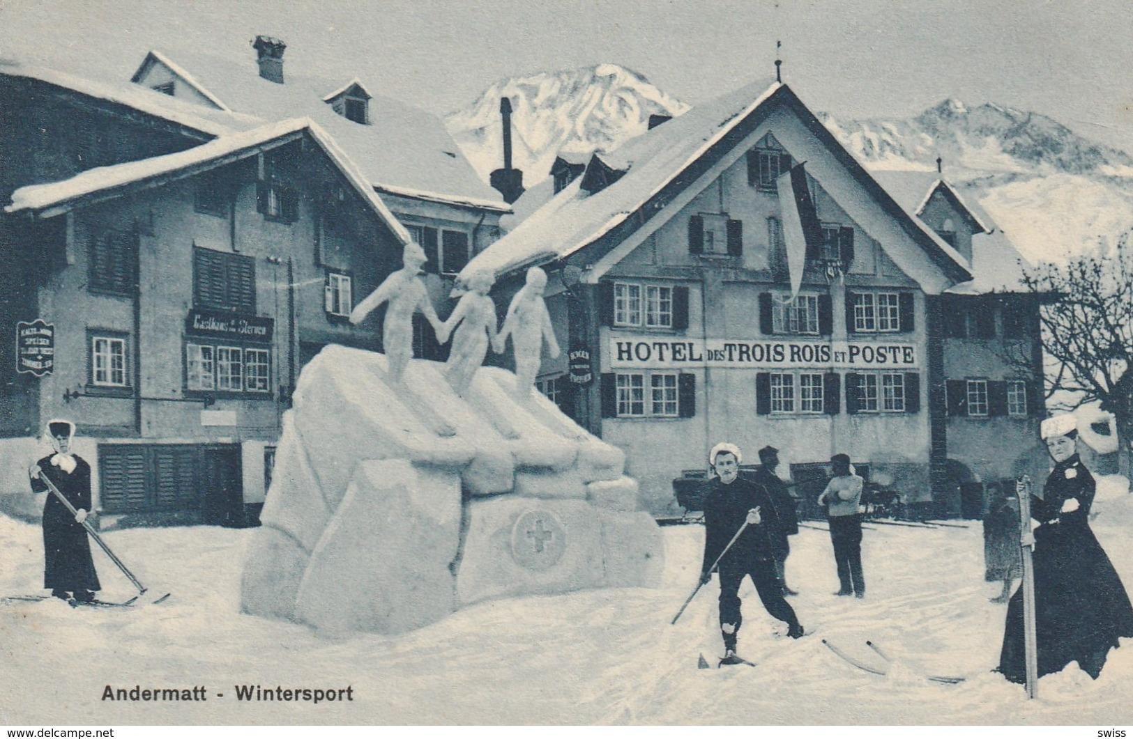 ANDERMATT WINTERSPORT. - UR Uri
