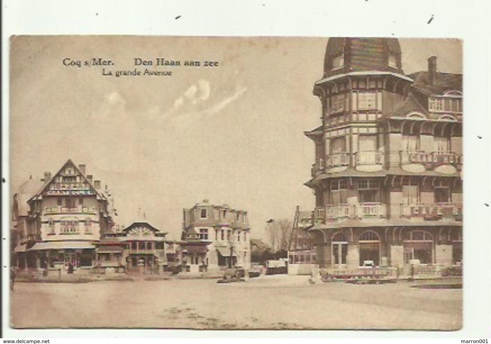 Den Haan Aan Zee - La Grande Avenue , Verzonden - De Haan