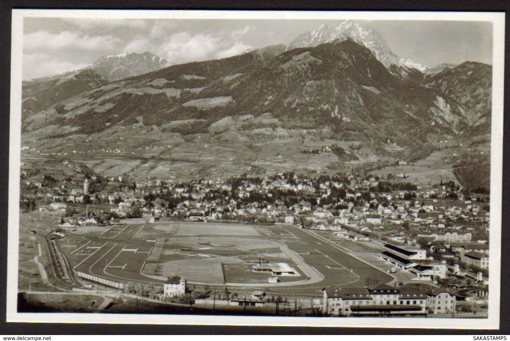 """1930ca.- """"Merano,foto Ippodromo"""" - Bolzano"""