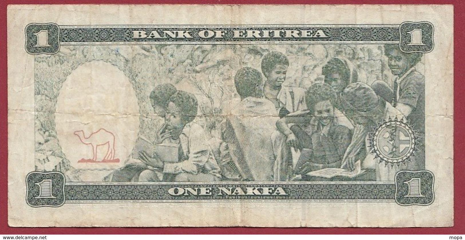 Erythrée 1 Nakfa Du 24/05/1997  Dans L 'état  (143) - Eritrea