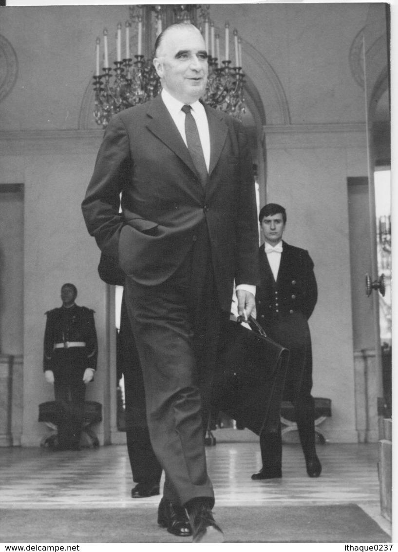 LA V° RÉPUBLIQUE REVISITÉE:Pompidou-3-07-1968. - Personalità