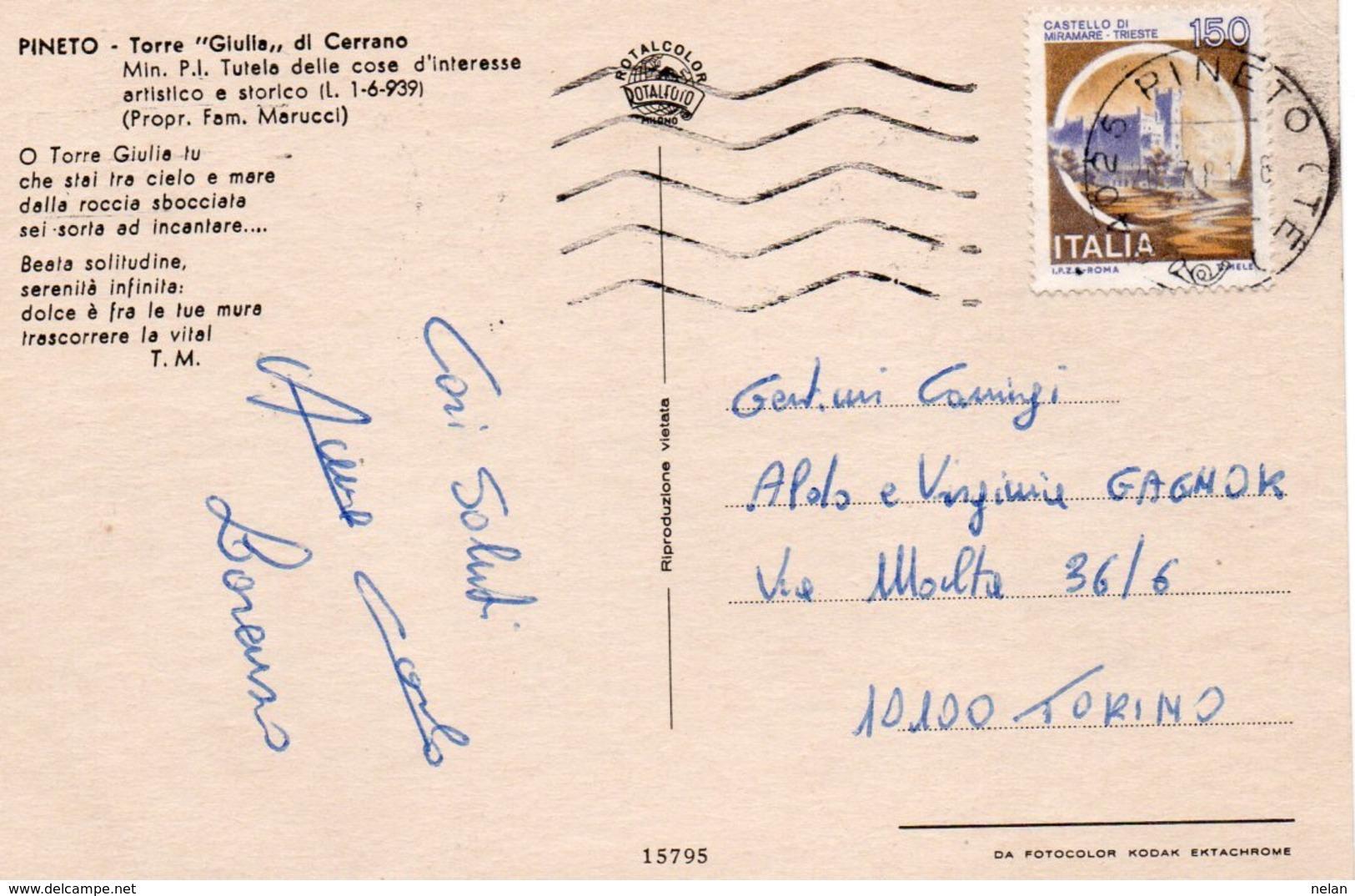 PINETO-TORRE GIULIA DI CERRANO-F.G - Teramo