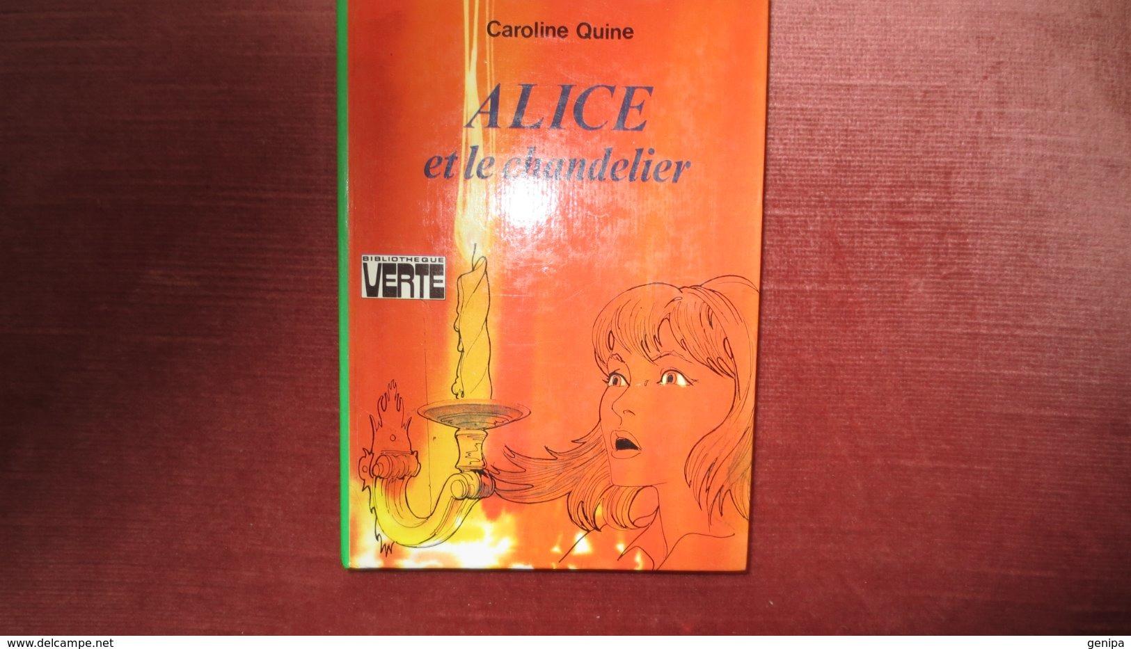 ALICE ET LE CHANDELIER. Année 1979 - Books, Magazines, Comics