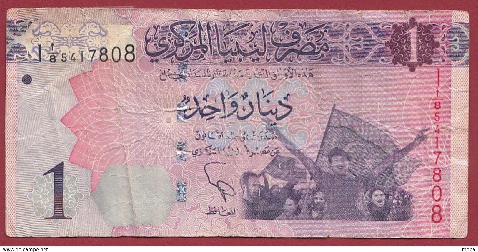 Libye 1  Dinars   2013  Dans L 'état  (174) - Libye