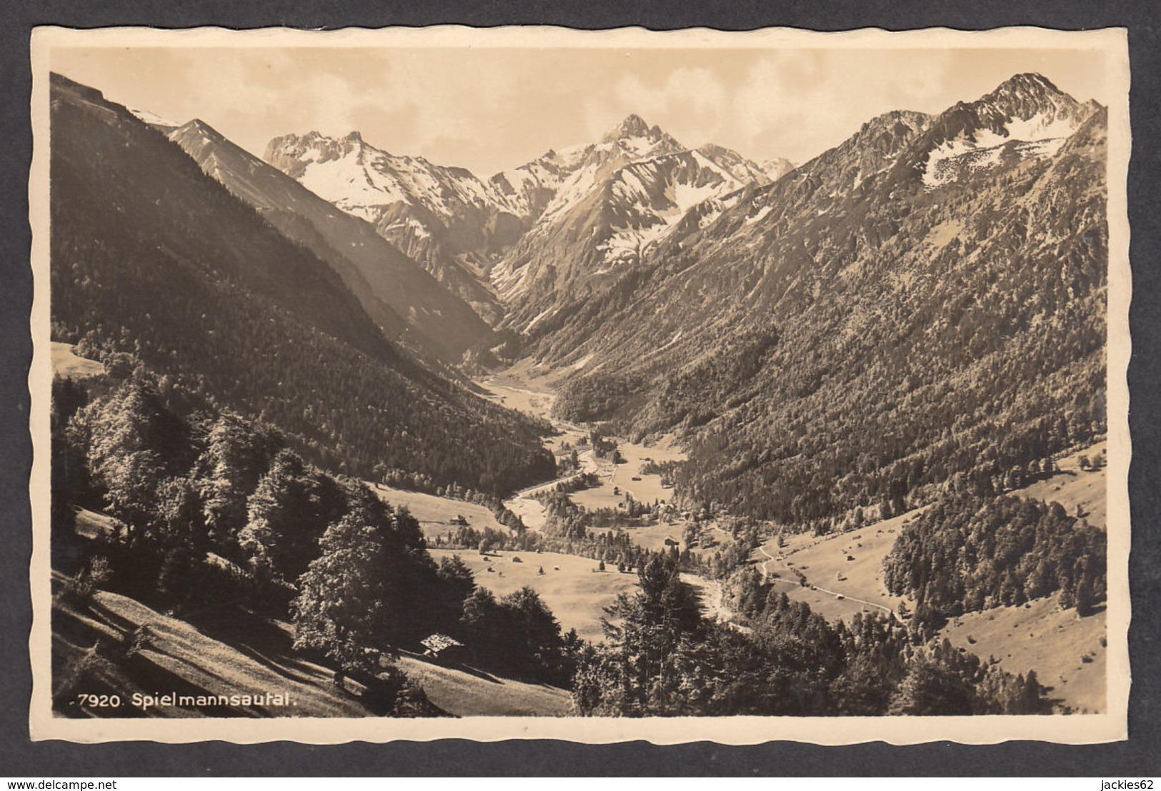 86928/ OBERSTDORF, Spielmannsautal - Oberstdorf