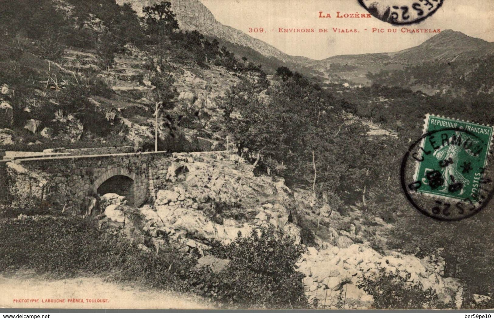 48 ENVIRONS DE VIALAS  PIC DE CHASTELAS - France