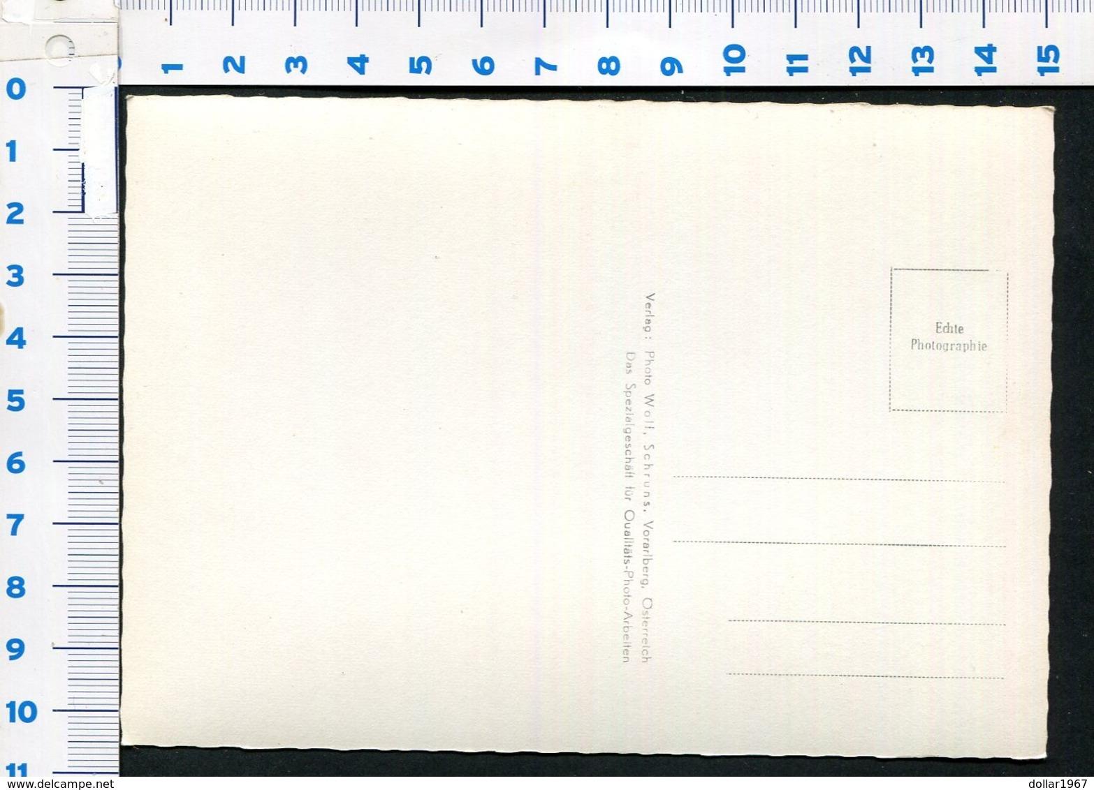Wormser Hütte Op 2.307 M | Kapellerweg 45 | 6780 Schruns -  NOT  Used - See The 2 Scans For Condition.(Originalscan ) - Schruns