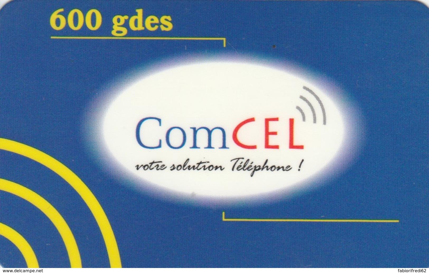 PREPAID PHONE CARD HAITI (E49.7.3 - Haiti