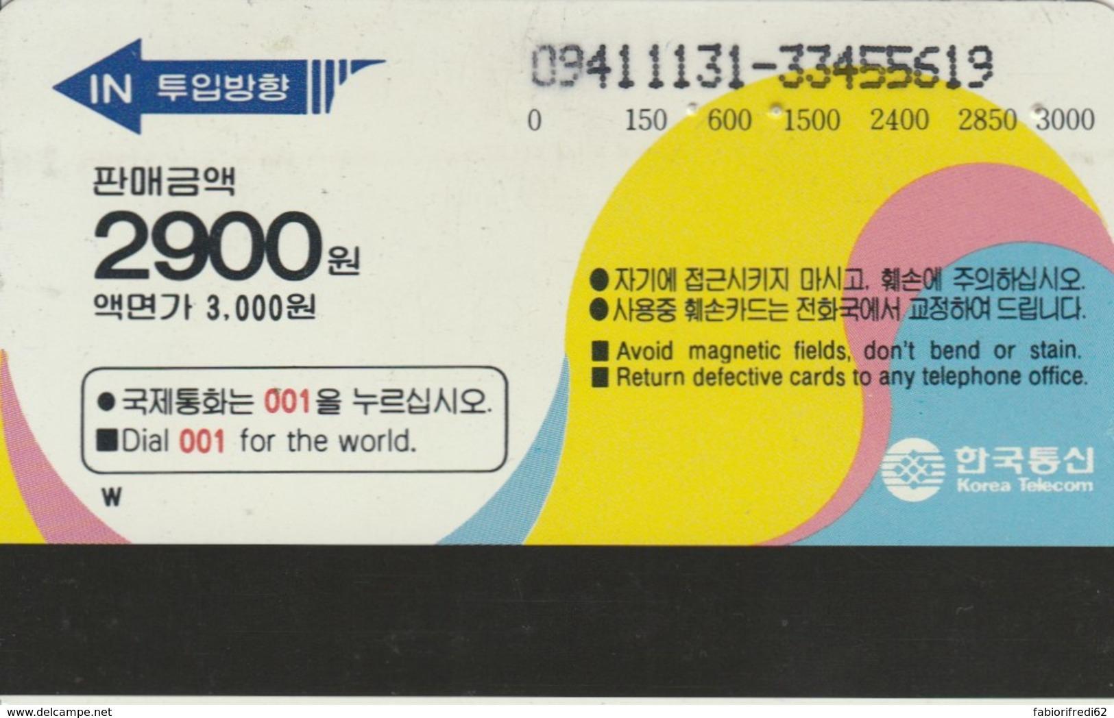 PHONE CARDS COREA (E49.35.7 - Korea (Zuid)