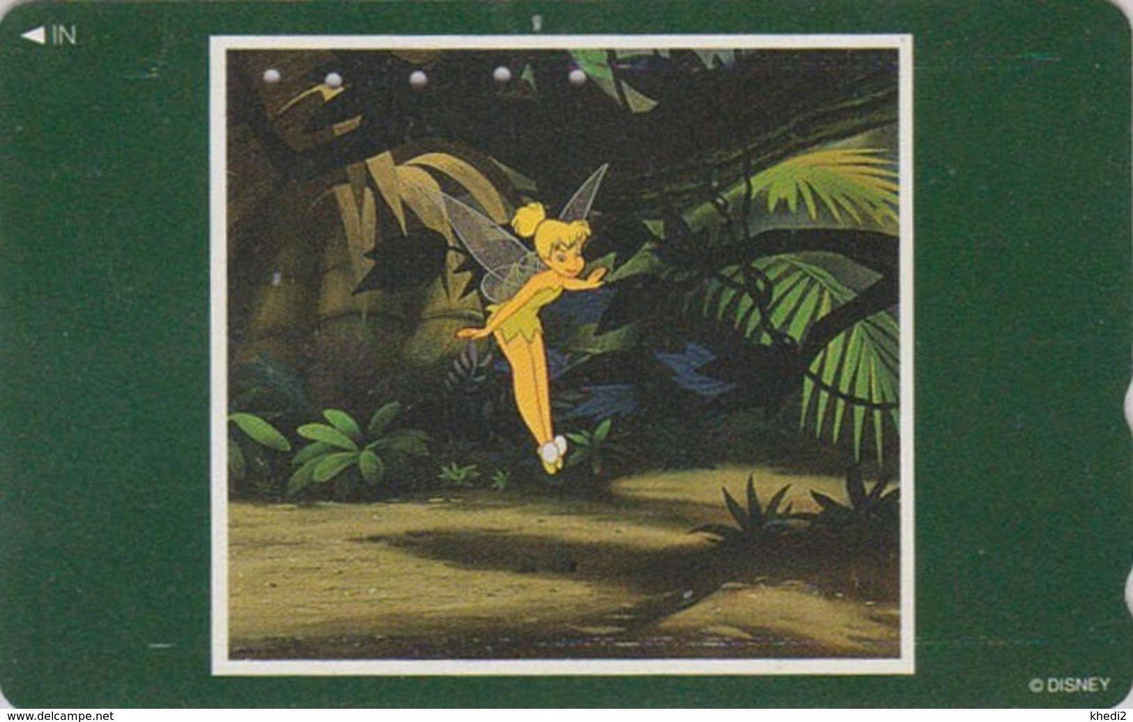 Télécarte Japon / 110-183333 B - DISNEY - FILM Série Cadre - FEE CLOCHETTE - TINKERBELL - Movie Japan Phonecard - Disney