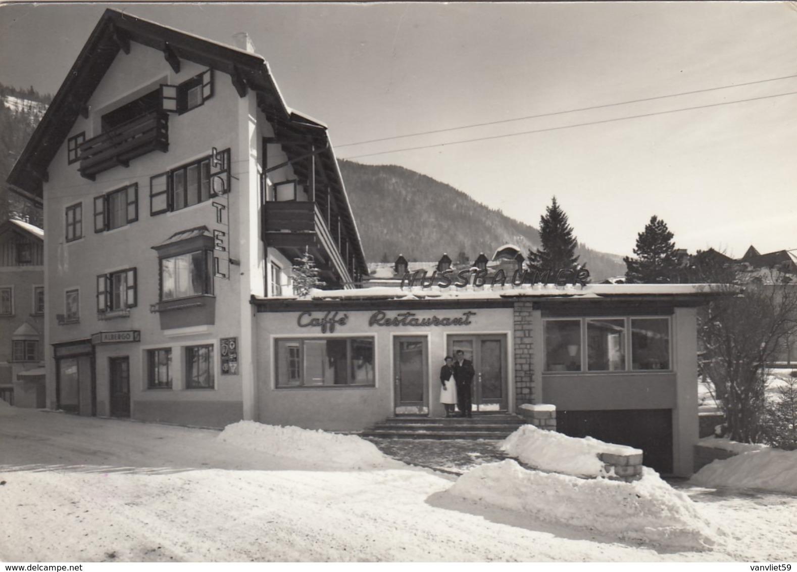 GOSSENSASS-COLLE ISARCO-BOZEN-BOLZANO-HOTEL=HUSSBAUMER=-CARTOLINA VERA FOTOGRAFIA VIAGGIATA NEL 1965 - Bolzano (Bozen)