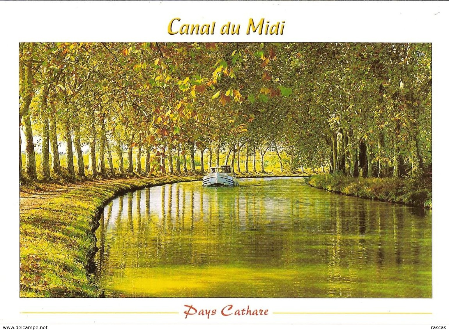 CPM - AUDE - PAYS CATHARE - LE CANAL DU MIDI - France