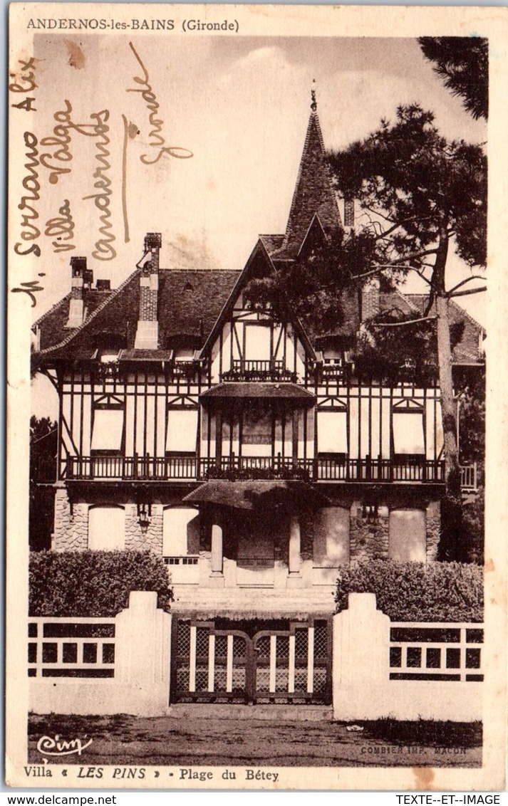 33 ANDERNOS LES BAINS - Villa Les Pins [REF/S007958] - Andernos-les-Bains