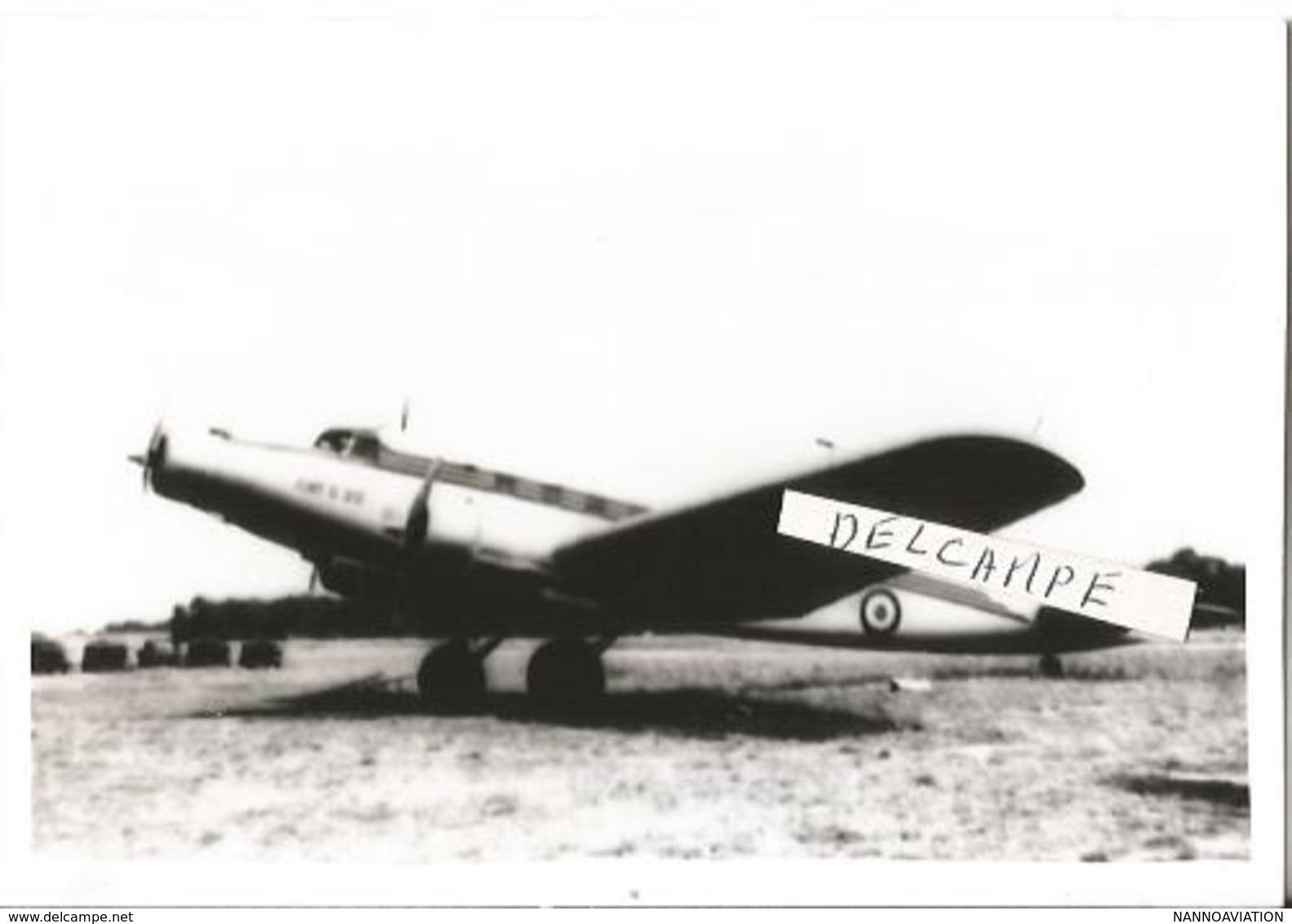 PHOTO AVION SAVOIA A IDENTIFIER 12X8CM  FLOU - 1946-....: Modern Tijdperk