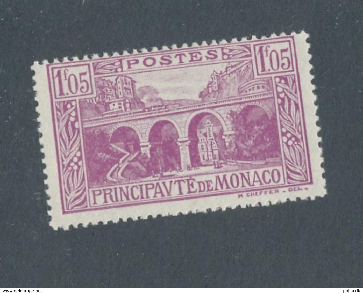 MONACO - N°YT 96 NEUF* AVEC CHARNIERE - COTE YT : 0€25 - 1924/33 - Monaco
