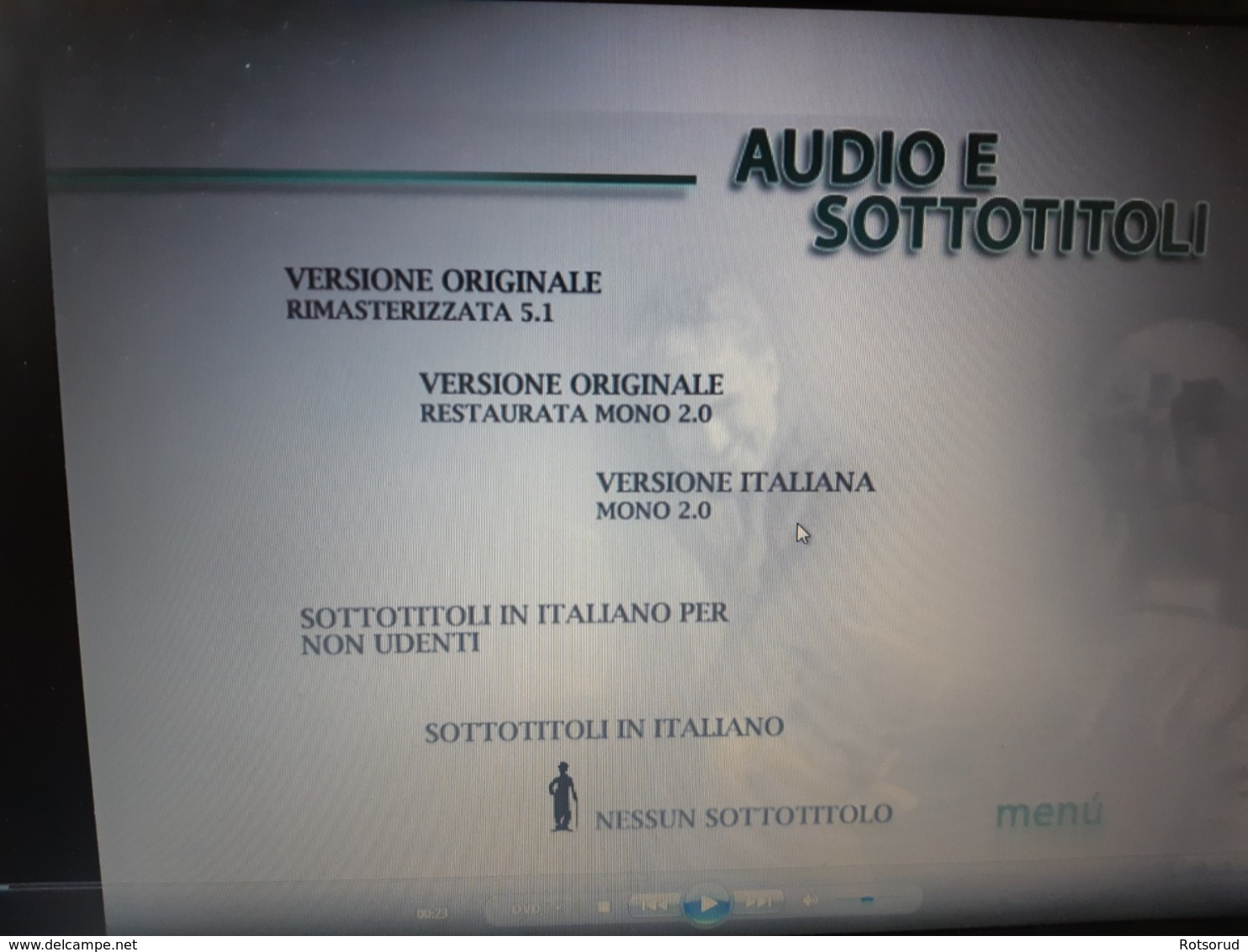"DVD ""Monsieur Verdoux"" - Charlie Chaplin - English / Italian Version . - Comedy"