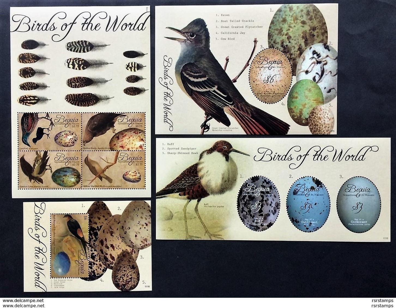 # Bequia 2011**Mi.752-60 Birds , MNH [11;160] - Vögel