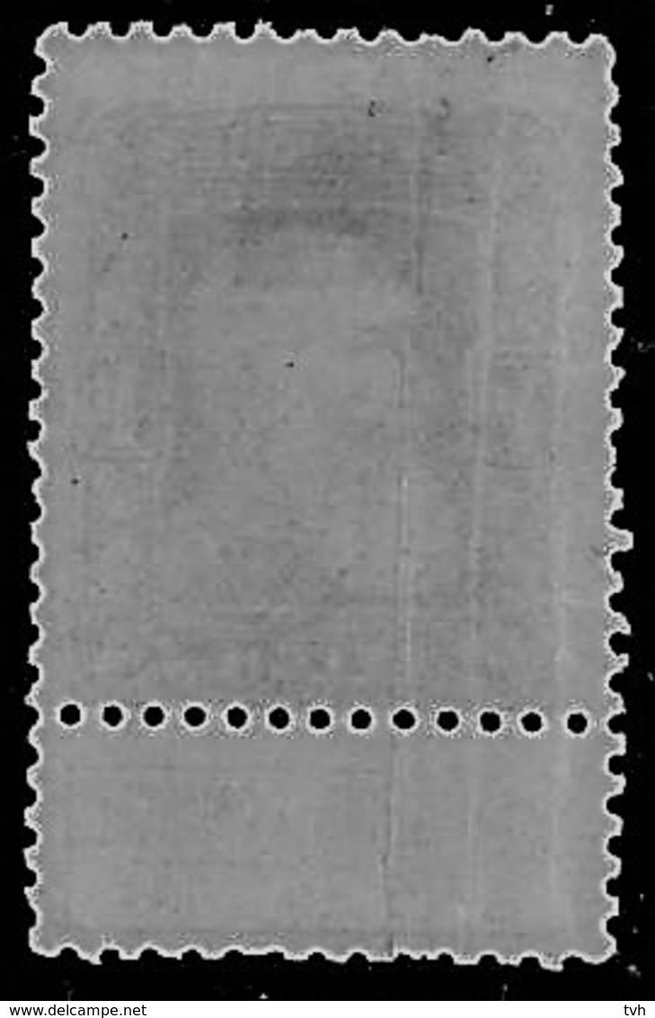 Zegel Nr 79 Met 3 Verticale Papierplooien - 1905 Grosse Barbe