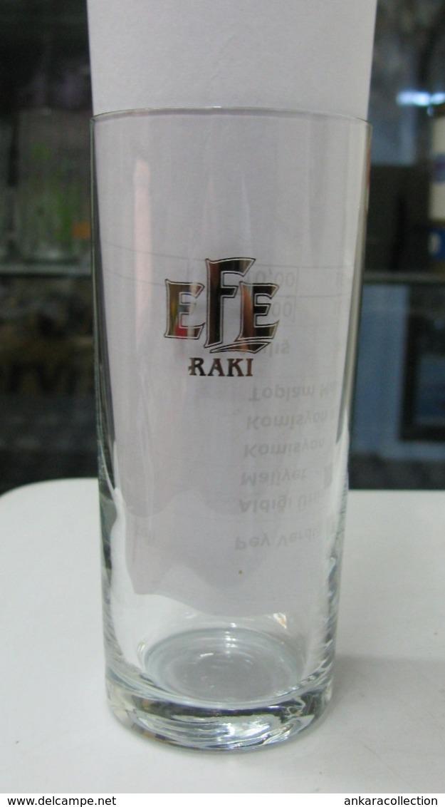 AC - EFE RAKI GLASS  FROM TURKEY - Other Bottles