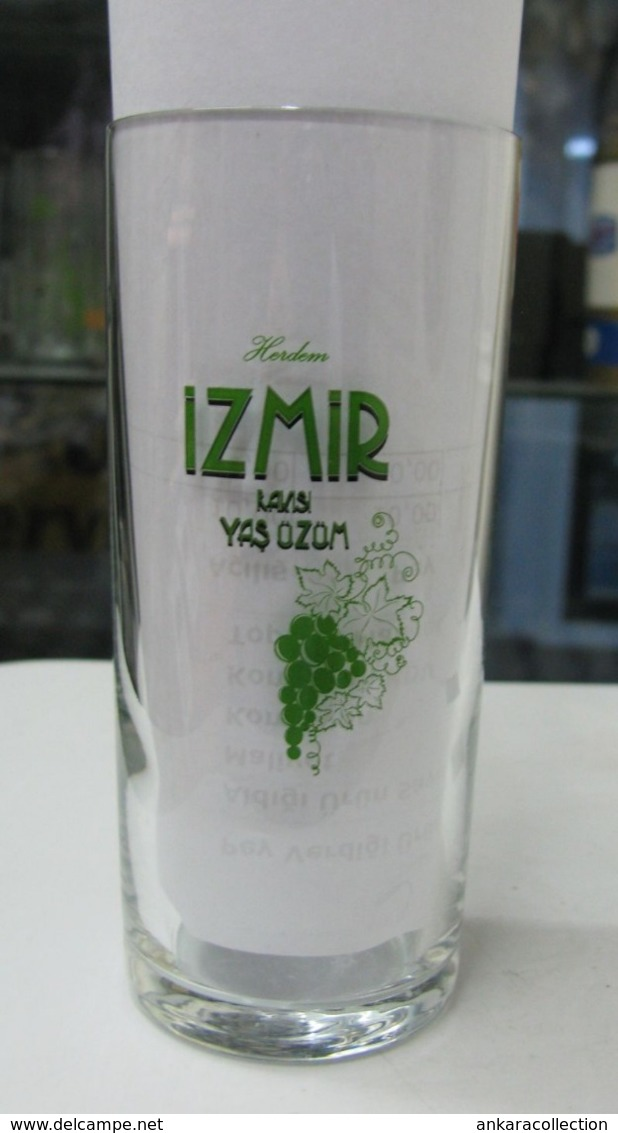 AC - HERDEM - ALWAYS IZMIRRAKI UZUM - GRAPE GLASS FROM TURKEY - Other Bottles