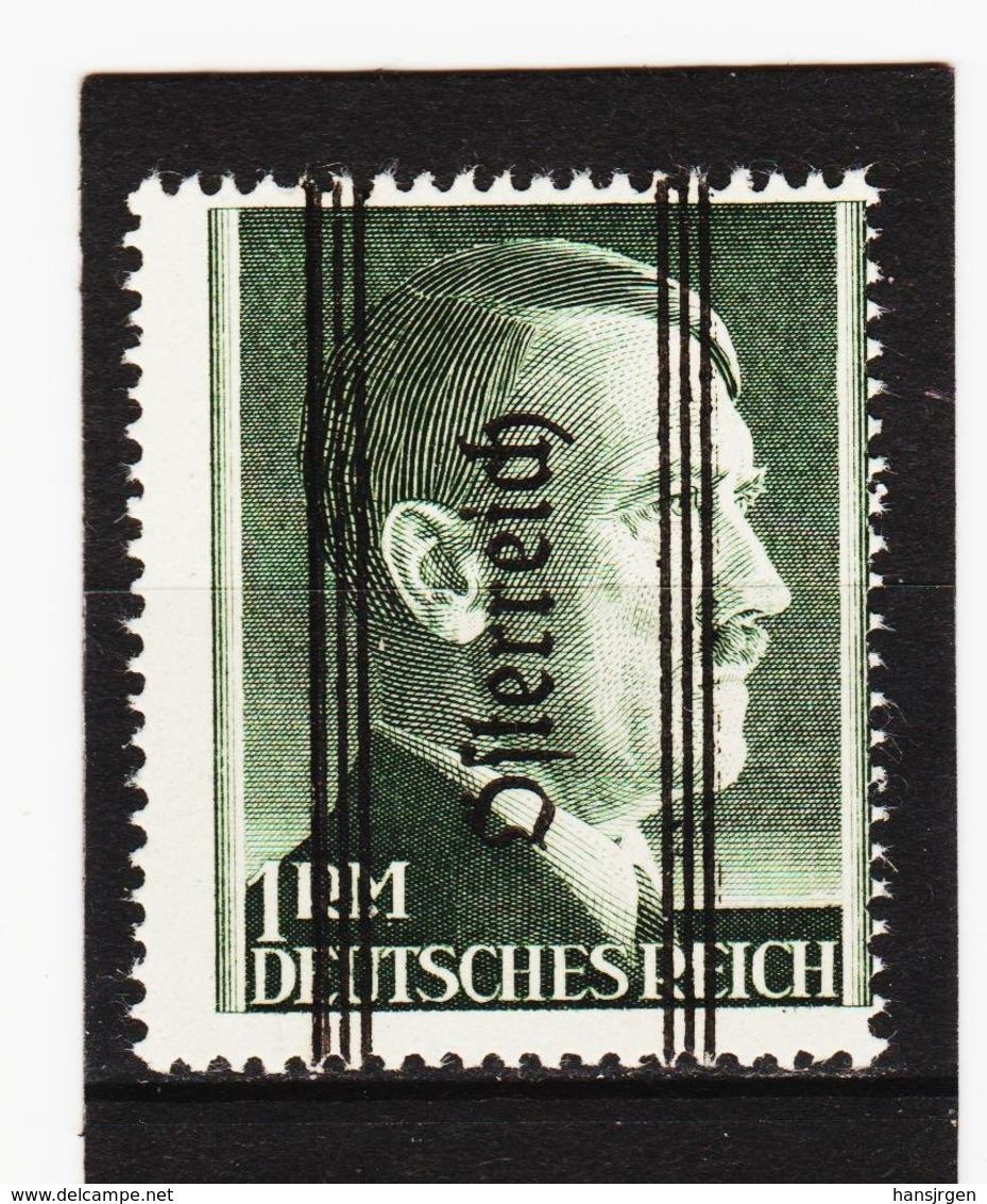 FOX712 ÖSTERREICH 1945 Michl 693 II DÜNNER AUFDRUCK ** Postfrisch SIEHE ABBILDUNG - 1945-.... 2. Republik