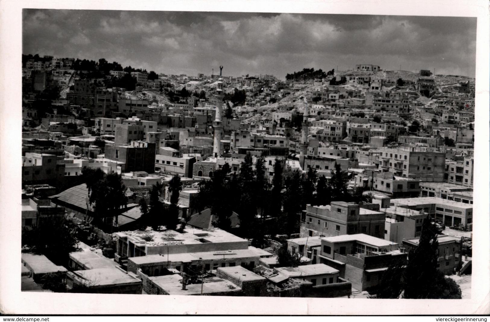 !  Postcard From Jordan, Jordanien Amman, 1958 - Jordanien