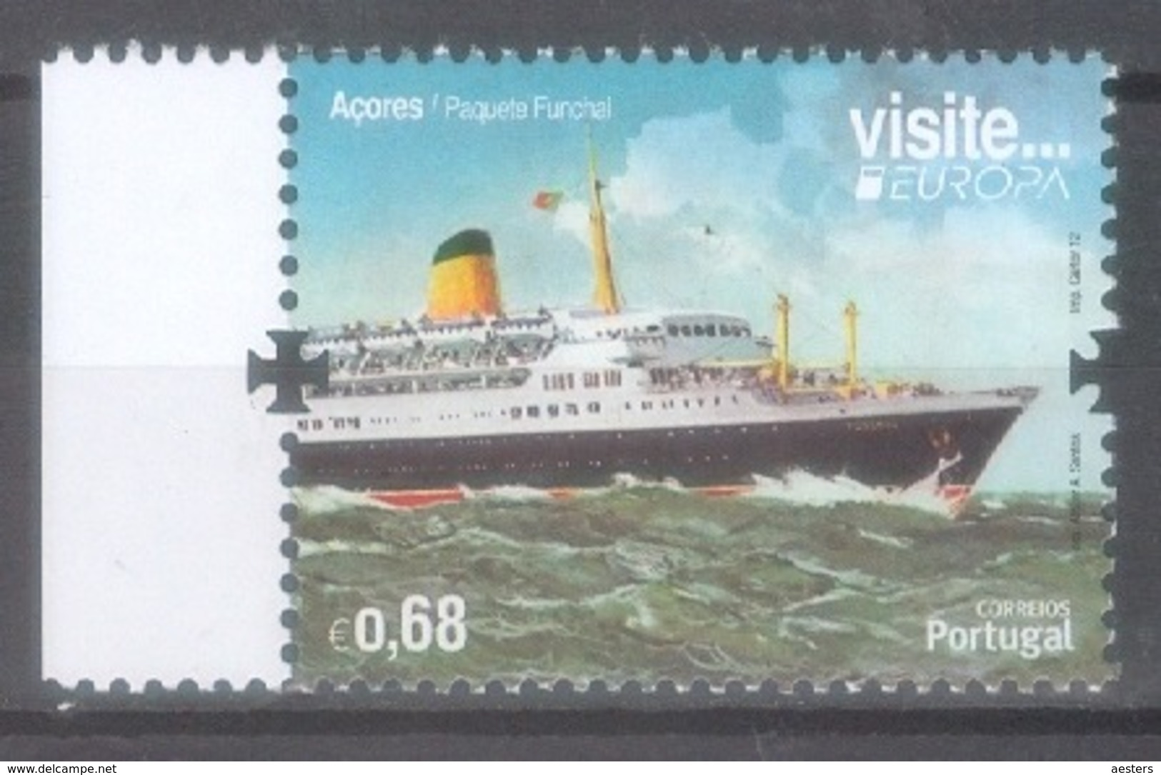 Açores (Portugal) 2012; Europa Cept - Michel 577.** (MNH) - 2012