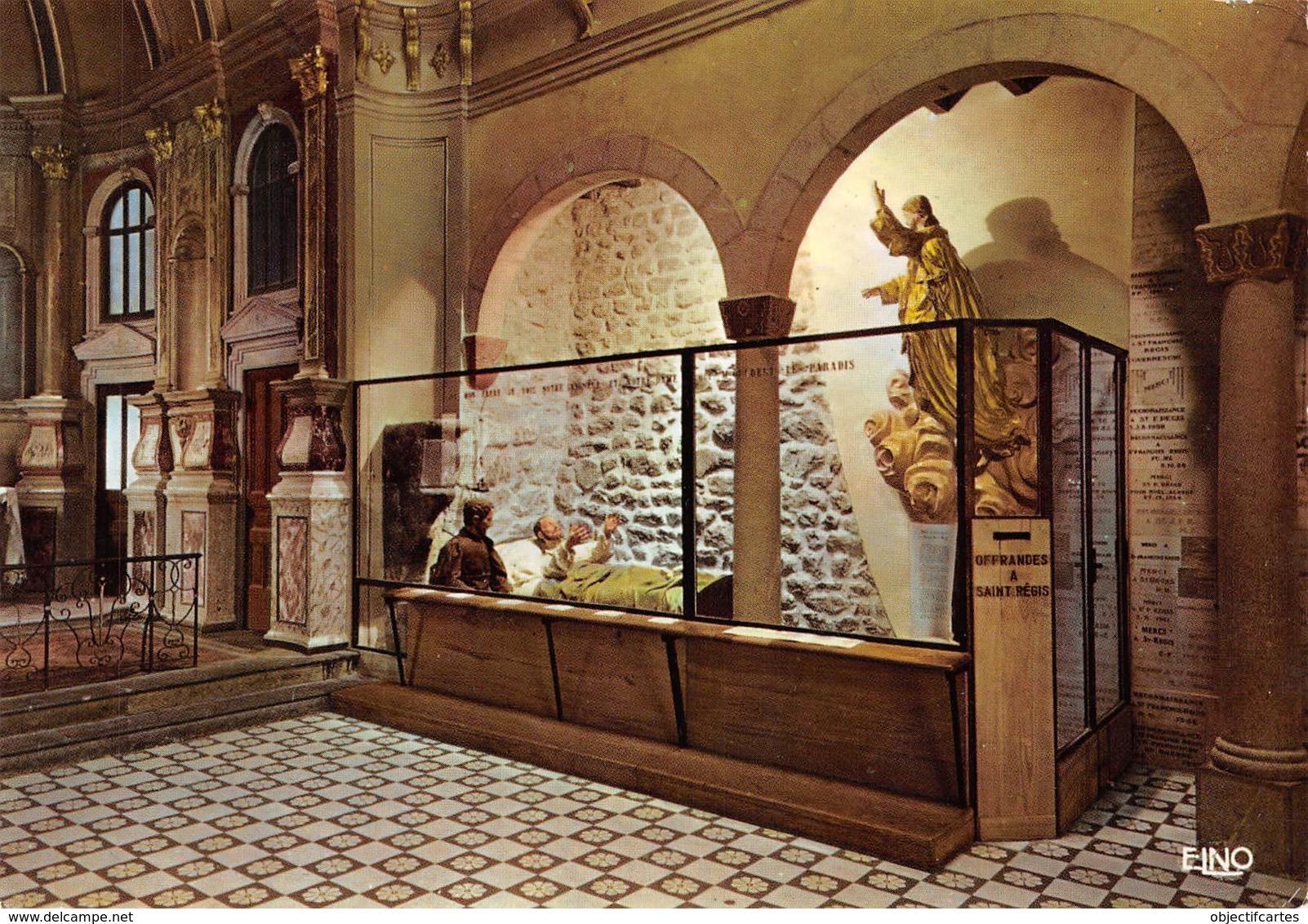 LA LOUVESC   Chapelle St Régis  22 (scan Recto Verso)MH2921 - La Louvesc