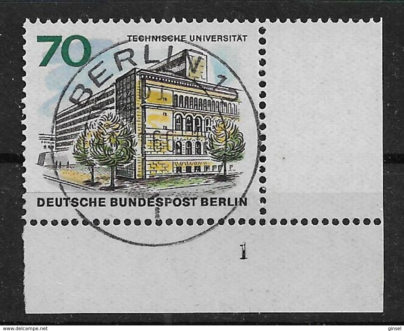 Berlin  261 O Formnummer - Berlin (West)