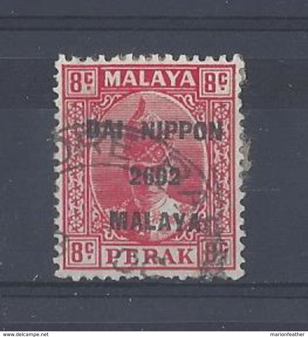 "MALAYA.."" JAP. OCC..""....KING GEORGE VI.(1936-52)...PERAK.....8c.....SGJ248...CDS.......USED.. - Great Britain (former Colonies & Protectorates)"